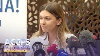 """Simona Halep, primele declaraţii după ce a ajuns în țară: """"Este o primire deosebită, una călduroasă"""""""