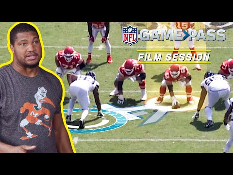 Calais Campbell Breaks Down How to Play the Run, Using Leverage, & Pass Rushing | NFL Film Session