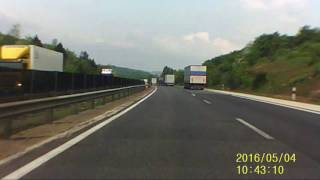 BMW baleset M1 autopálya
