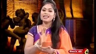 Divya Krishnan - Samayal Manthiram- Captain Tv - பெண்களுக்கு அங்கே தொடுவது பிடிக்கும்