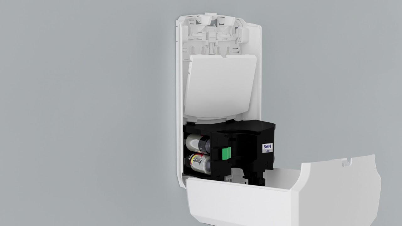 Amazon Com Purell Ltx 7 Touch Free Hand Sanitizer Dispenser