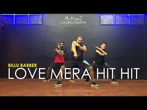 Love Mera Hit Hit | Billu Barber | Kiran J | DancePeople Studios