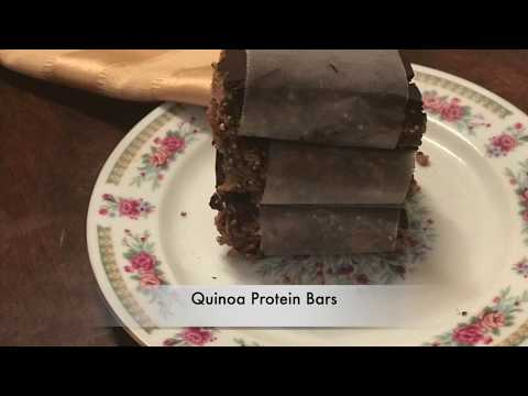 Natural Quinoa Protein Energy Bars