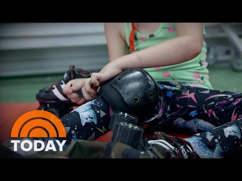 Girls Build Confidence, Resilience In Rough And Tumble World Of Roller Derby | TODAY