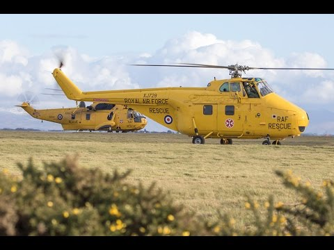 Whirlwind & Sea King at 22 Sqn Ceremony RAF Valley