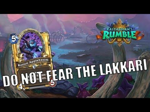 Rastakhan Control Warlock | Do not fear Lakkari Sacrifice