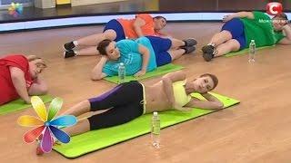 Комплекс упражнений от Аниты Луценко и Дневников похудения.   Седьмая тренировка