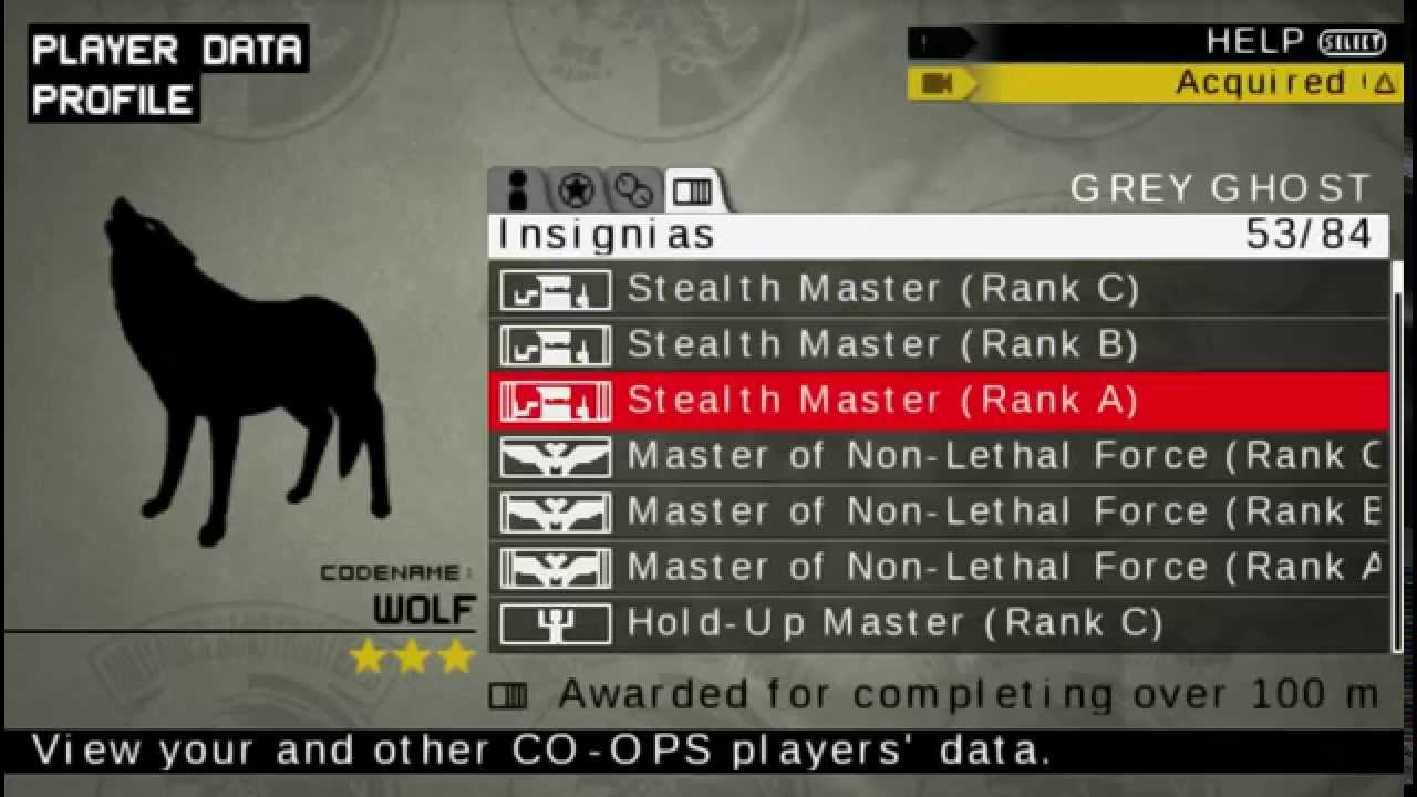 Guide] Metal Gear Solid: Peace Walker
