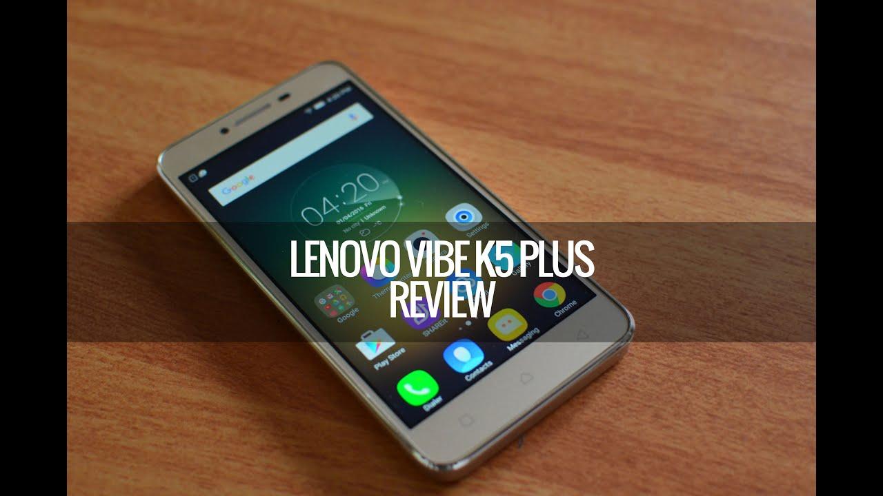 Lenovo Vibe K5 Plus Full Review