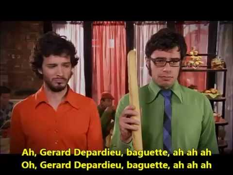Foux du FaFa Flight of the Conchords Learn French with Songs English Lyrics