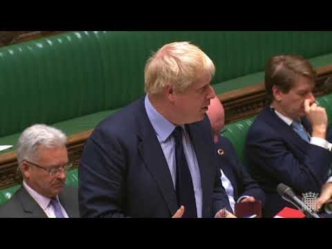 Boris forced to confront China on Hong Kong human rights, following challenge by Geraint Davies MP