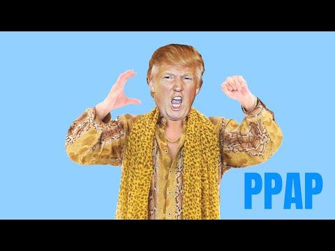 Donald Trump Sings Pen Pineapple Apple Pen [YTPMV/PARODY]