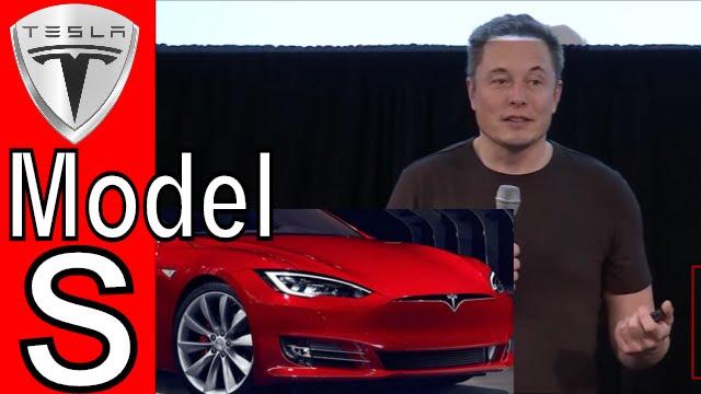 Elon Musk Talks About The Tesla Model S