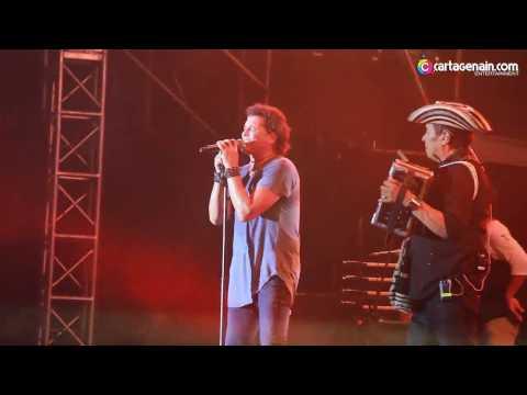 Carlos Vives en vivo Metro Concierto Cartagena 2017
