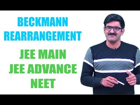 Beckmann Rearrangement | JEE Main |JEE Advance | NEET
