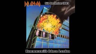 Def Leppard Mirror Mirror (Look Into My Eyes) Hammersmith 1983