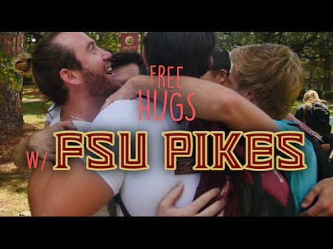 FSU Pikes & Kindness365 Takeover Florida State's campus giving out FREE HUGS
