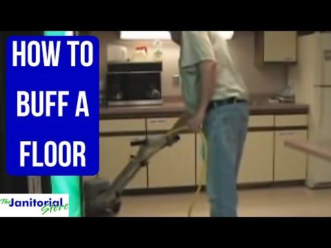 How To Buff A Floor