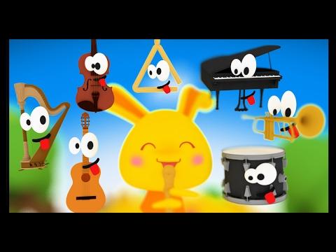 Apprendre les instruments de musique en français - Titounis Découverte - Comptines et chansons