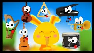 Repeat youtube video Apprendre les instruments de musique en français - Titounis Découverte - Comptines et chansons