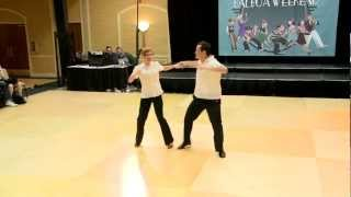 All Balboa Weekend 2012: Showcase Competition 1st Place - Mickey & Kelly
