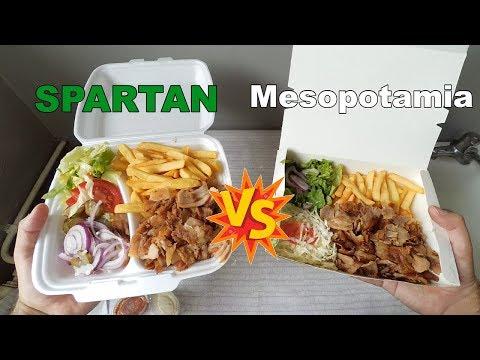 SPARTAN vs MESOPOTAMIA: Souvlaki & Piatto Kebab
