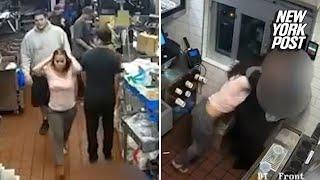Woman chokes McDonald's manager over ketchup dispute thumbnail