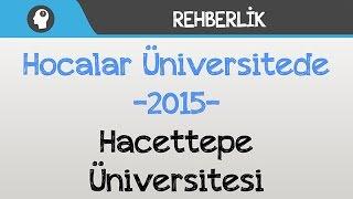 Hocalar Üniversitede - Hacettepe Üniversitesi
