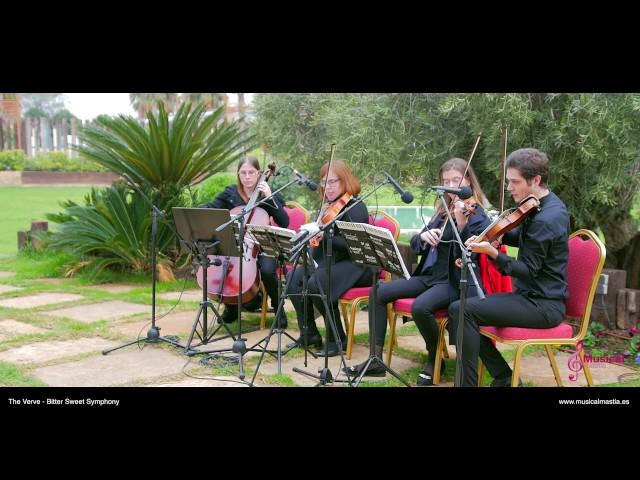 The Verve Bitter Sweet Symphony String quartet Boda Finca Buenavista Murcia