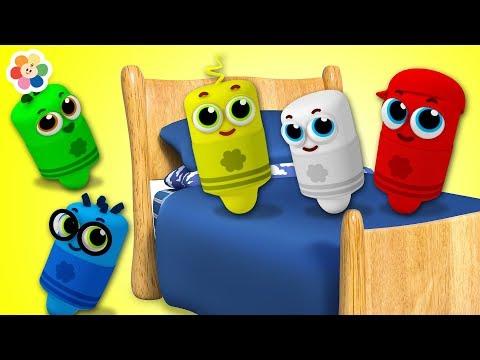 Ten in The Bed  Nursery Rhyme | Learn Numbers with Kindergarten Songs & Baby Songs By BabyFirst