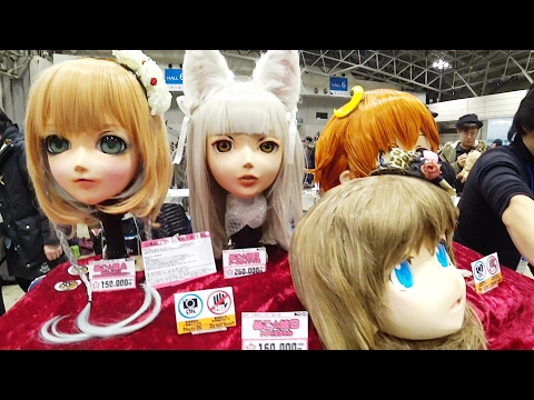 TOYS For ADULTS in Japan |Wonder Festival 2017