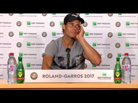 Rafael Nadal Press conference / SF RG 2017