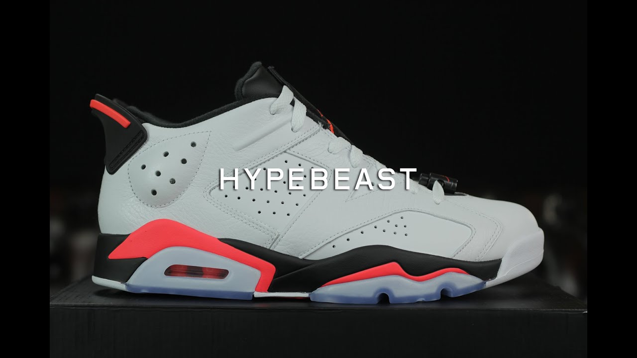 7a26c89fa1e5 First Impressions on Air Jordan 6 Low White Infrared - YouTube