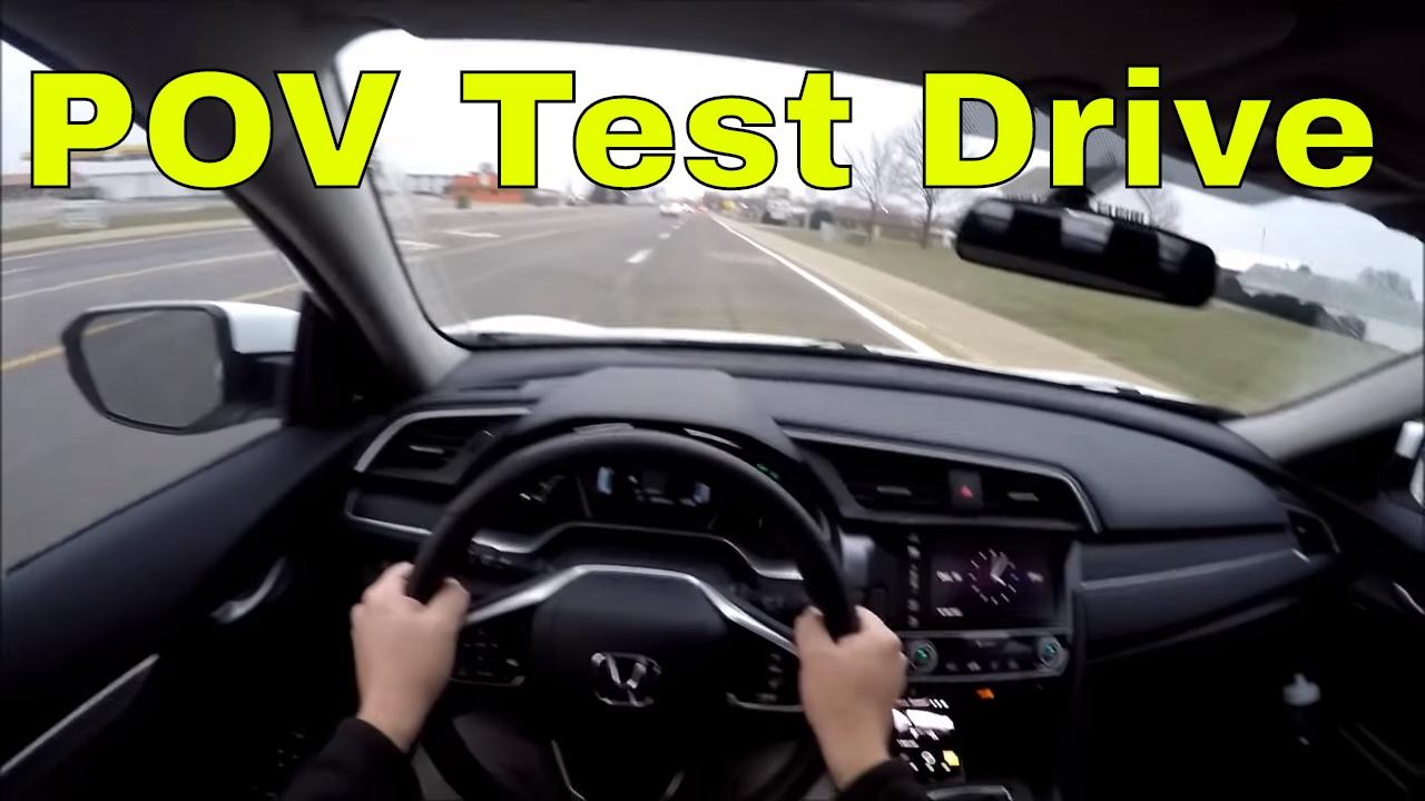 test drive honda civic pov