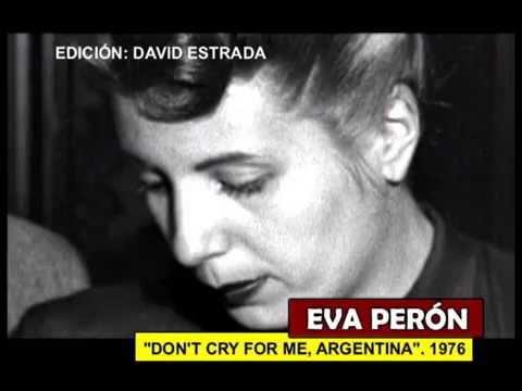 DONT CRY FOR ME ARGENTINA JULIE COVINGTON 1976