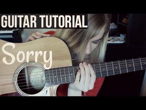 Sorry - Halsey   EASY GUITAR TUTORIAL