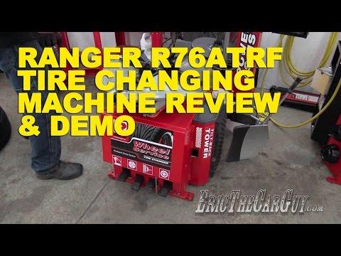 Ranger R76RTF Tire Machine Review & Demo -EricTheCarGuy