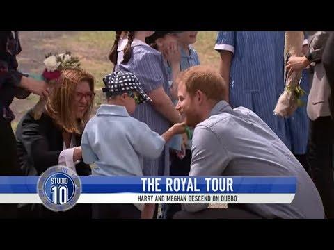 Prince Harry's Hair Fascinates Adorable Dubbo Schoolboy   Studio 10
