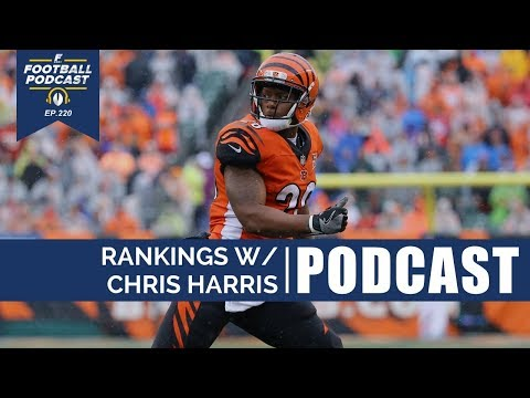 Rankings W Chris Harris Training Camp Battles Ep 220 Youtube
