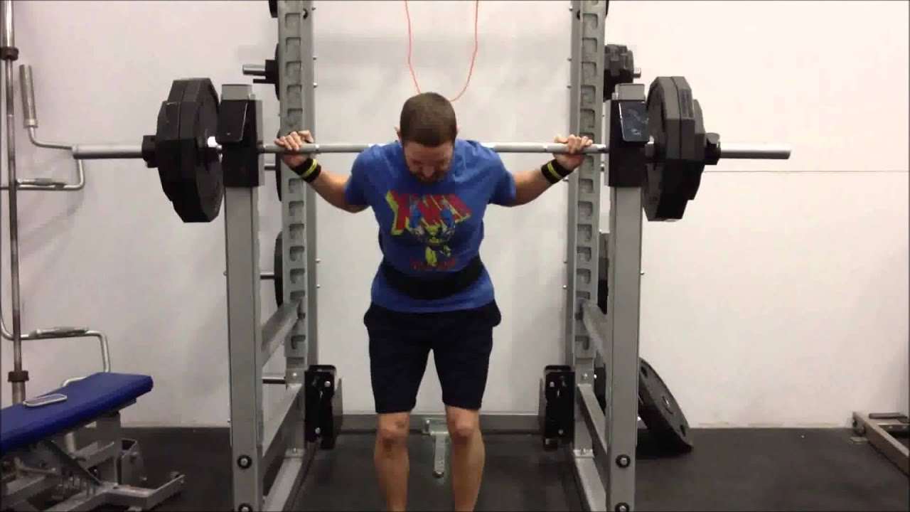 Squat Results -- Review of Wendler 5/3/1 Boring But Big 3-Month Challenge  (8 MAR 2013)