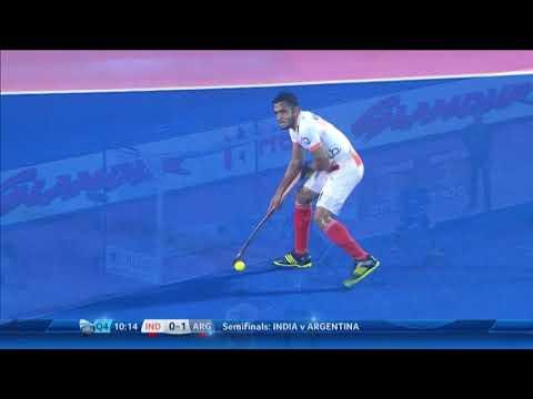 India v Argentina Semi Highlights - Odisha Men's Hockey World League Final - Bhubaneswar, India