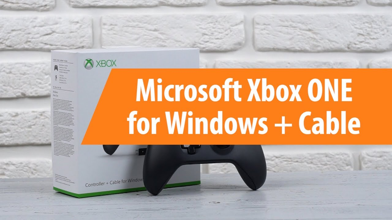 Распаковка Microsoft Xbox ONE for Windows + Cable / Unboxing Microsoft Xbox ONE for Windows + Cable