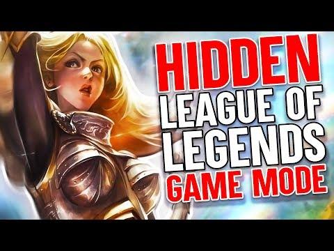 The Hidden League Of Legends Game Mode