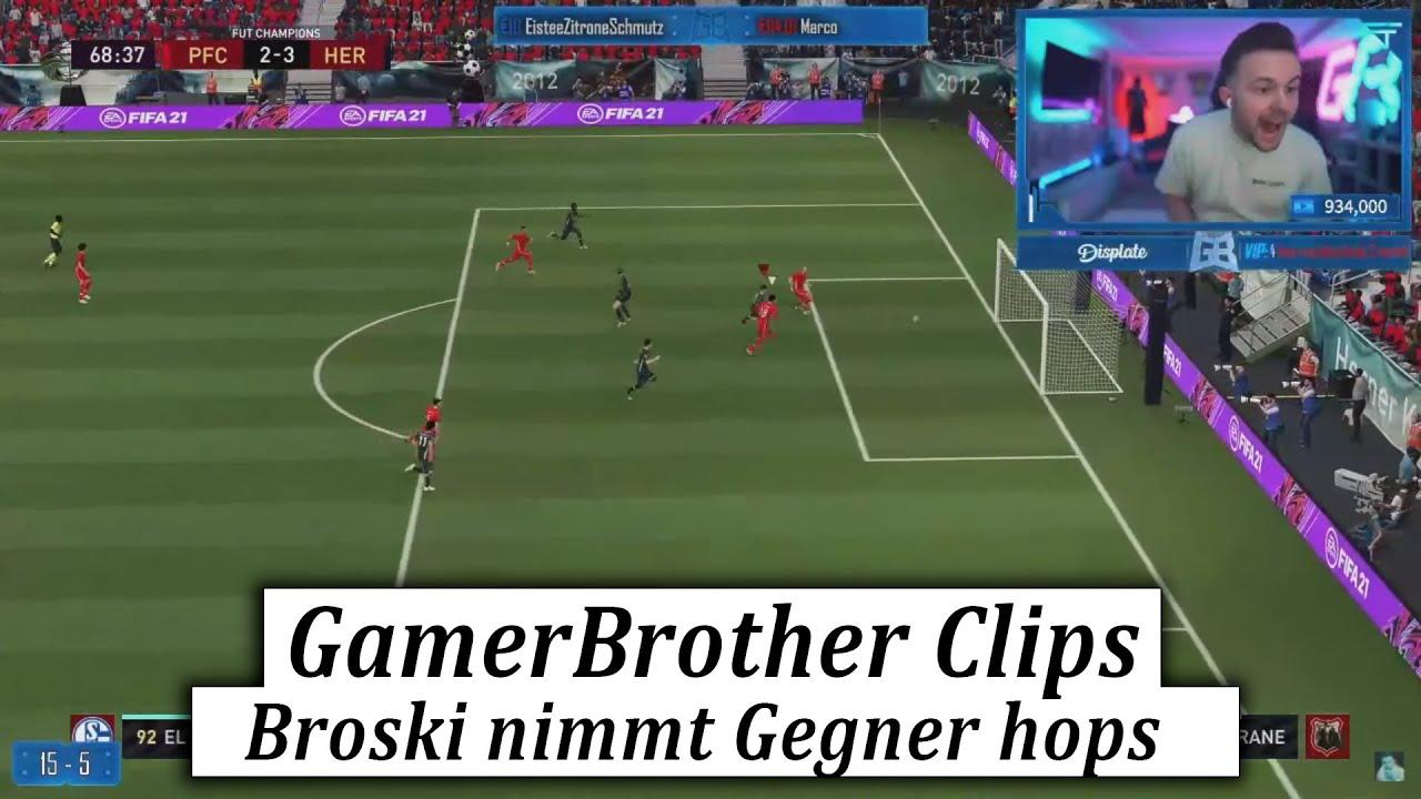 GamerBrother nimmt GEGNER mit EL SHAARAWY die EHRE😂🤣 | GamerBrother Clips
