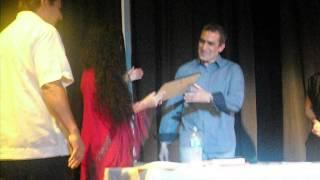 Daniel Martinez y Veronica Merchant en el Centro Cultural Cuale