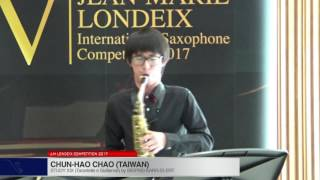 Londeix 2017 – Chun Hao Chao (Taiwan) – XIX Tarantelle e Sizilienne by Sigfrid Karg Elert