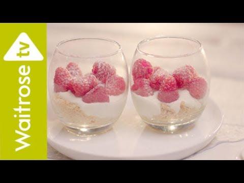 No-bake Raspberry Cheesecakes | Waitrose