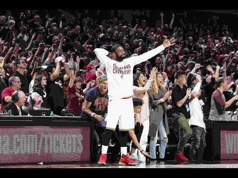 Cavs Sink NBA Finals-Record 24 Treys in Game 4 Win