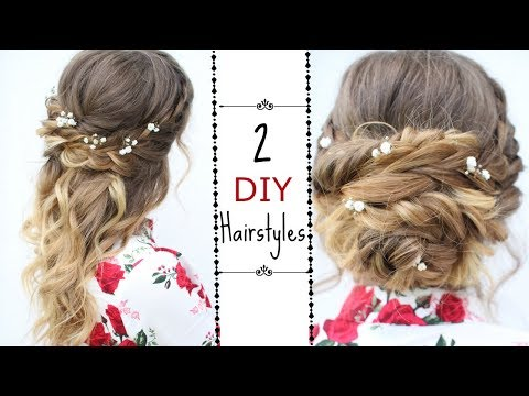 Two Easy DIY Hairstyles | Braided Hairstyles | Braidsandstyles12