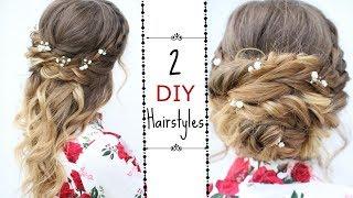 Two Easy DIY Hairstyles | Braided Hairstyles | Braidsandstyles12